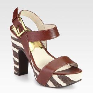 MICHAEL KORS Ivana Platform Sandals